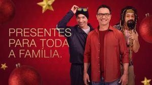 Marco Luque é a estrela da campanha de Natal das Óticas Diniz