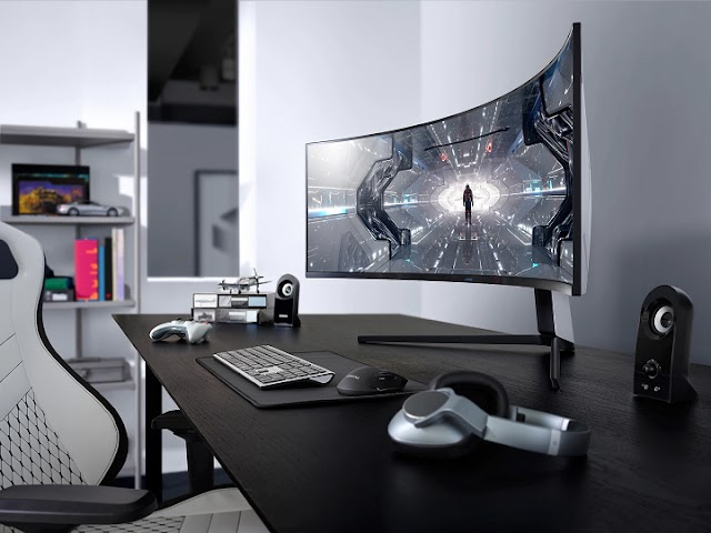 Samsung Odyssey G7 gaming monitor brings its 1000R curve this June