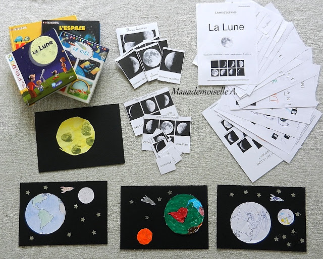 || Nos activités sur la Lune