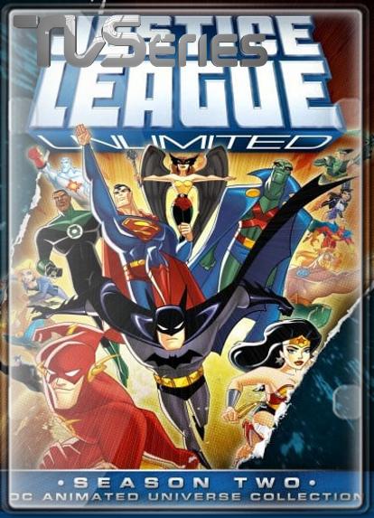 La Liga de la Justicia Ilimitada (Temporada 2) HD 1080P LATINO/INGLES