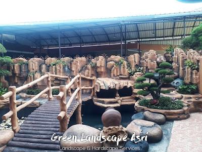 Jasa Pembuatan Relief Kolam Tebing Banjarnegara   Tukang Dekorasi Relief Air Terjun