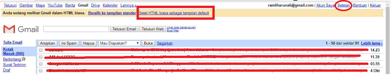Panduan Lengkap Cara Setting Email Gmail di Outlook 2007, 2010 dan 2013 ~ Belalang Kampung