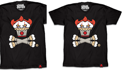 "It Chapter 2 ""Down Here Crossbones"" T-Shirt by Johnny Cupcakes"