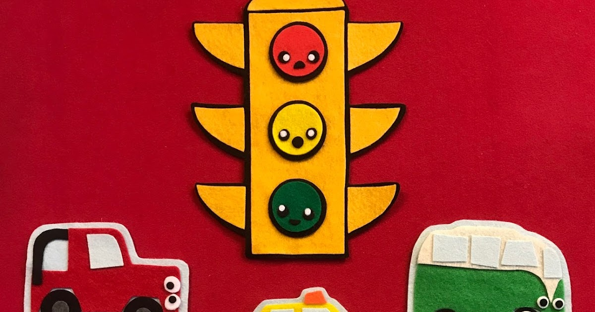 Felt-tastic Flannelboard Funtime: Toot Toot. Beep Beep: Traffic Light [aka. Ignition (remix) Pt. 2]