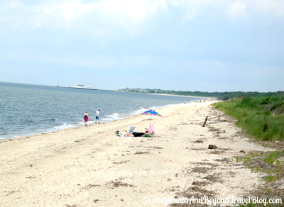 Beautiful Highbee Beach in Cape May, New Jersey