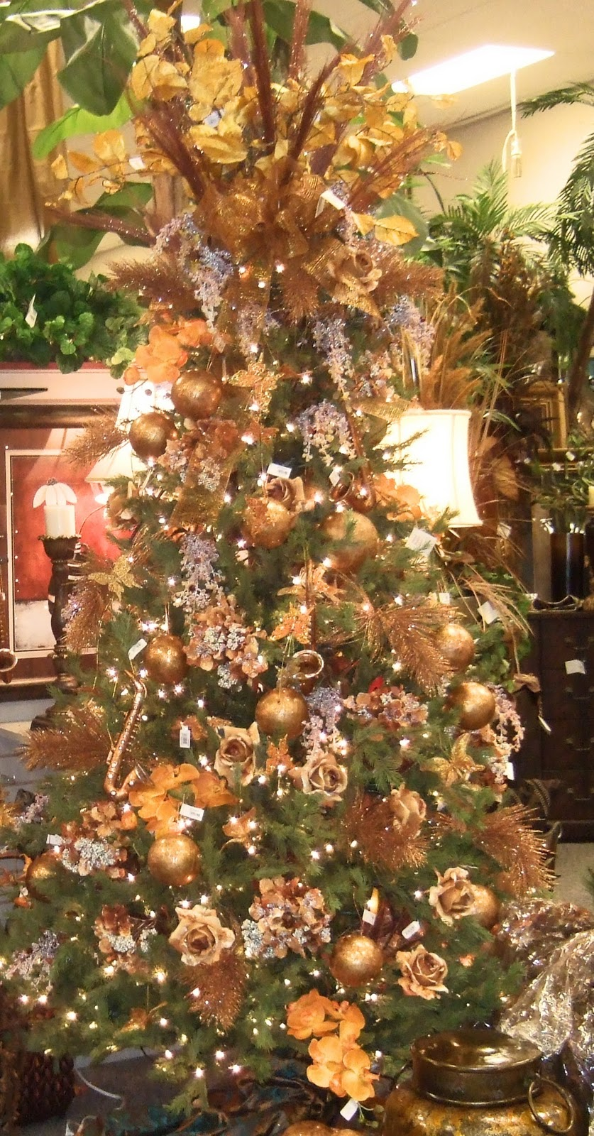 Ana Silk Flowers Ideas Christmas Tree Decorating