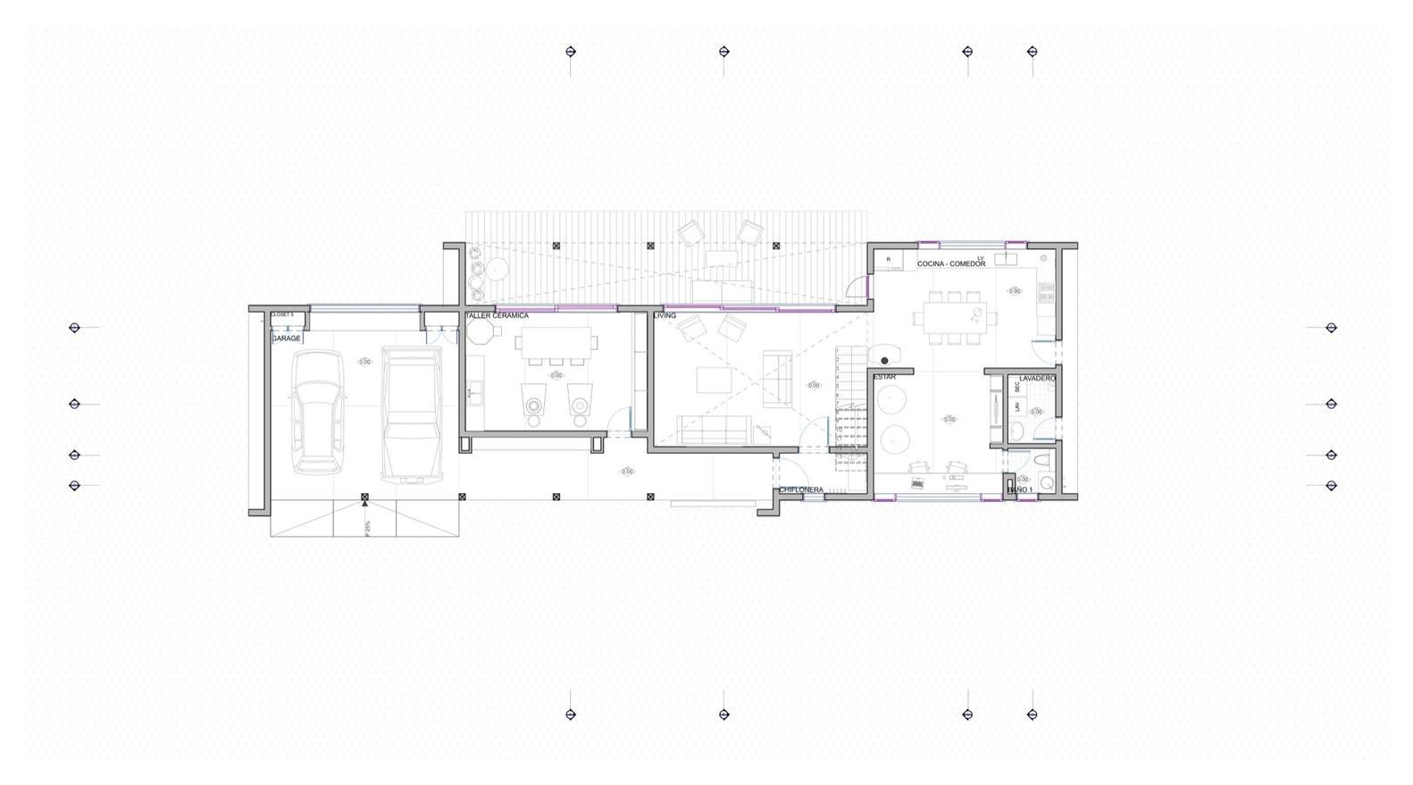 Skyline arquitectura casa galpon - Gva arquitectos ...