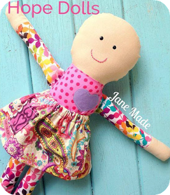 Hope rag doll from Oohlala Janine