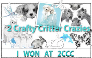 2 Crafty Critter Crazies Winner