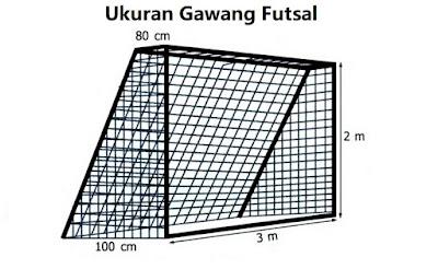 Ukuran Gawang Futsal