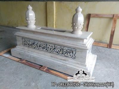 Makam Marmer Tulungagung, Kijing Marmer Putih, Harga Makam Marmer