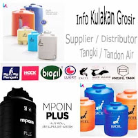 Supplier dan Distributor Grosir Tangki Air