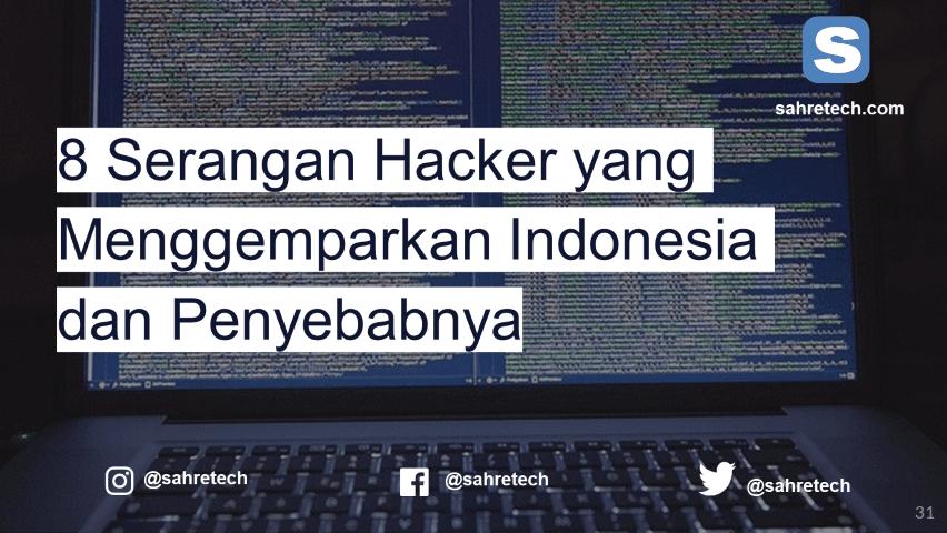 8 Serangan Hacker yang Menggemparkan Indonesia dan Penyebabnya
