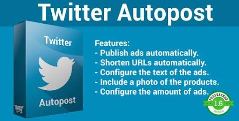 Twitter Autopost - Prestashop Plugin