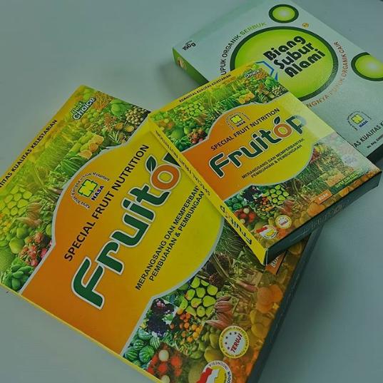 FRUITOP - Pupuk Organik Khusus Untuk Tanaman Buah
