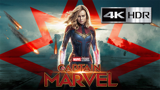 Capitana Marvel (2019) Web-DL 4K UHD [HDR] Latino-Ingles