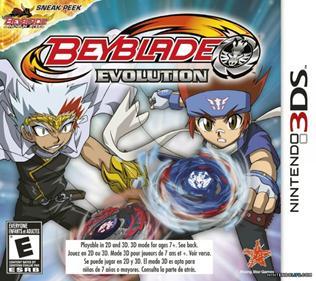 Rom Beyblade Evolution 3DS