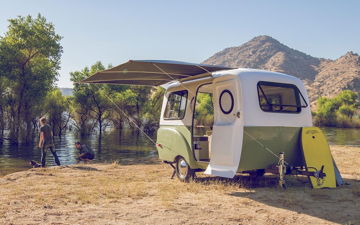 Modellneuheiten Happy Camper Hc1 Der Wohnwagen Den