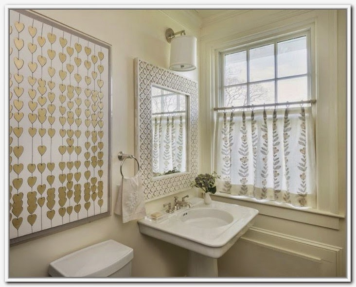 Save Private With Cafe Curtains For Bathroom