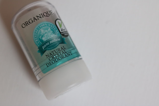 Organique Crystal Deodorant Review