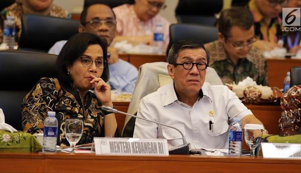 Jokowi Mau Rombak Kabinet, IPO Rekomendasikan Yasonna Dan Sri Mulyani
