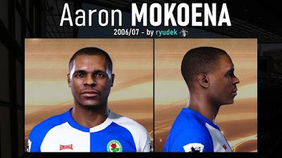 PES 2021 Faces Aaron Mokoena by Ryudek