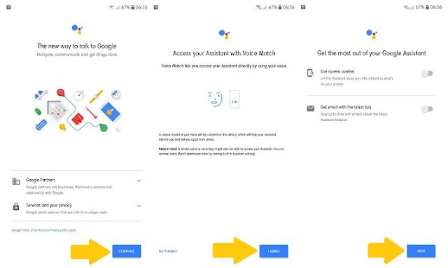 cara mengaktifkan asisten google di hp android