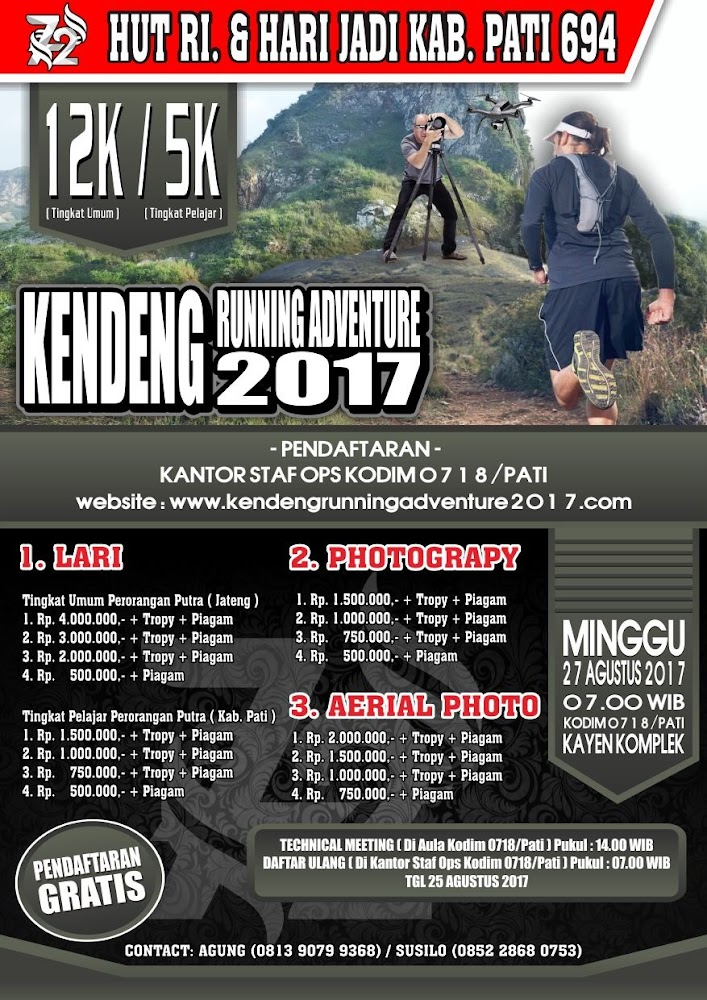 Kendeng Running Adventure • 2017