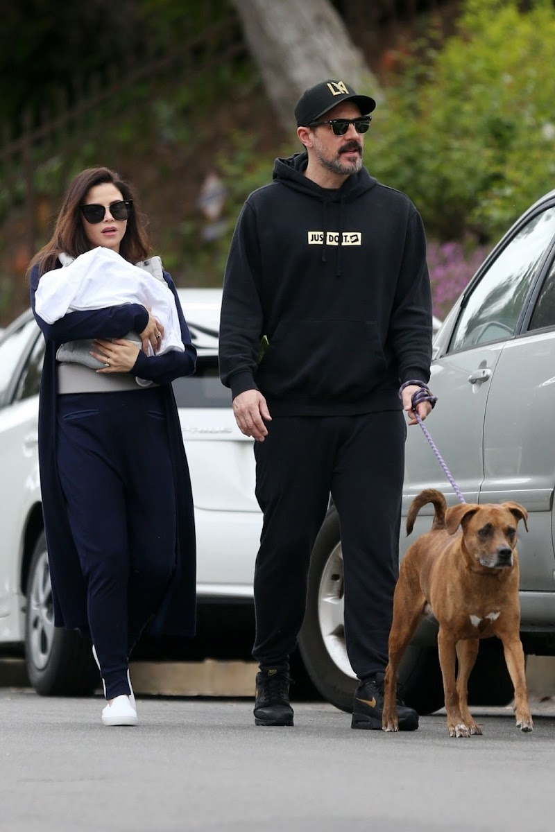 Jenna Dewan  and Steve Kazee Clicked Outside in Sherman Oaks 20 Mar -2020