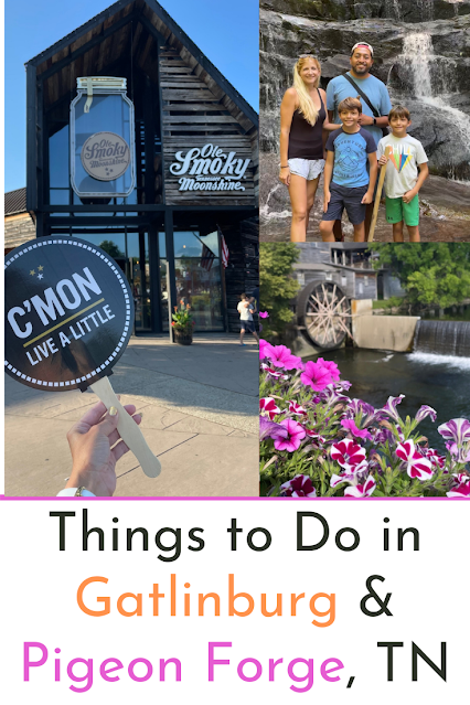 Things to Do in Gatlinburg and Pigeon Forge - where to eat and see