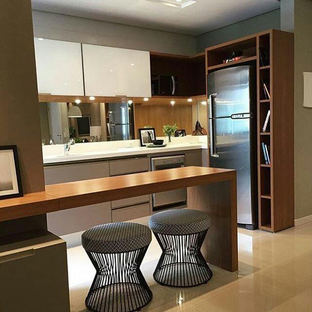 Construindo minha casa clean saiba como fazer or amento de m veis planejados perfeito e sem - Banquetas para cocina ...