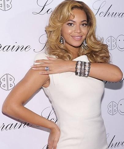 Foto de Beyonce sonriendo