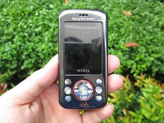 Sony Ericsson W395 Walkman Kolektor Item