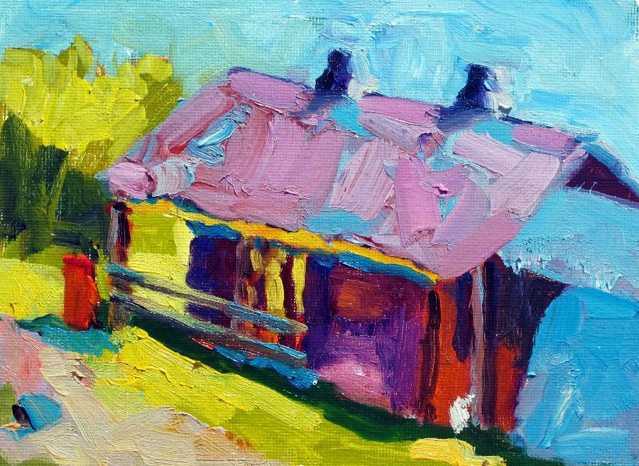 Nancy Standlee Fine Art Russell Farm Art Center Barn