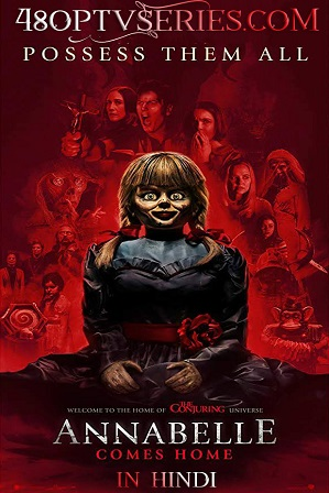 Watch Online Free Annabelle Comes Home (2019) Full Hindi Dual Audio Movie Download 480p 720p HD