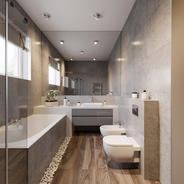 Kajaria Bathroom Floor Tiles Design