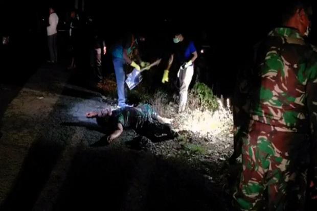 Anggota TNI Ditemukan Tewas, Organ Tubuh Hilang