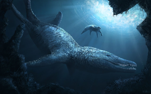 In pursuit of giant pliosaurids and whale-sized ichthyosaurs