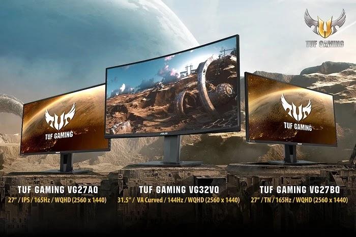 ASUS TUF Gaming VG32VQ, VG27AQ and VG27BQ Gaming Monitors
