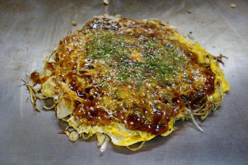 Makanan terenak di jepang - okonomiyaki