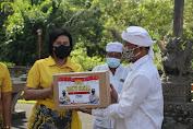 Jelang HUT Bhayangkara Ke -75 Polres Badung Gelar Bakti Sosial