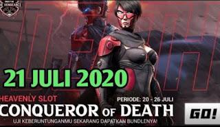 Kode Redeem FF 21 Juli 2020
