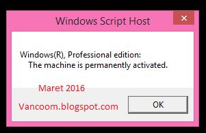 cara aktivasi windows 8.1 pro build 9600 permanent