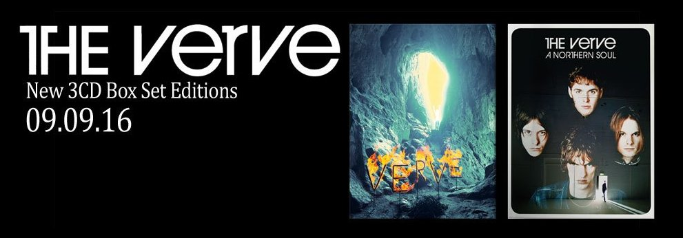 The Verve Live: 2016 Reissues: Further details and track lists
