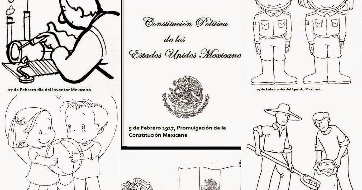 Periodico Mural De Febrero Listo Para Imprimir En Hojas Y Armarlo En