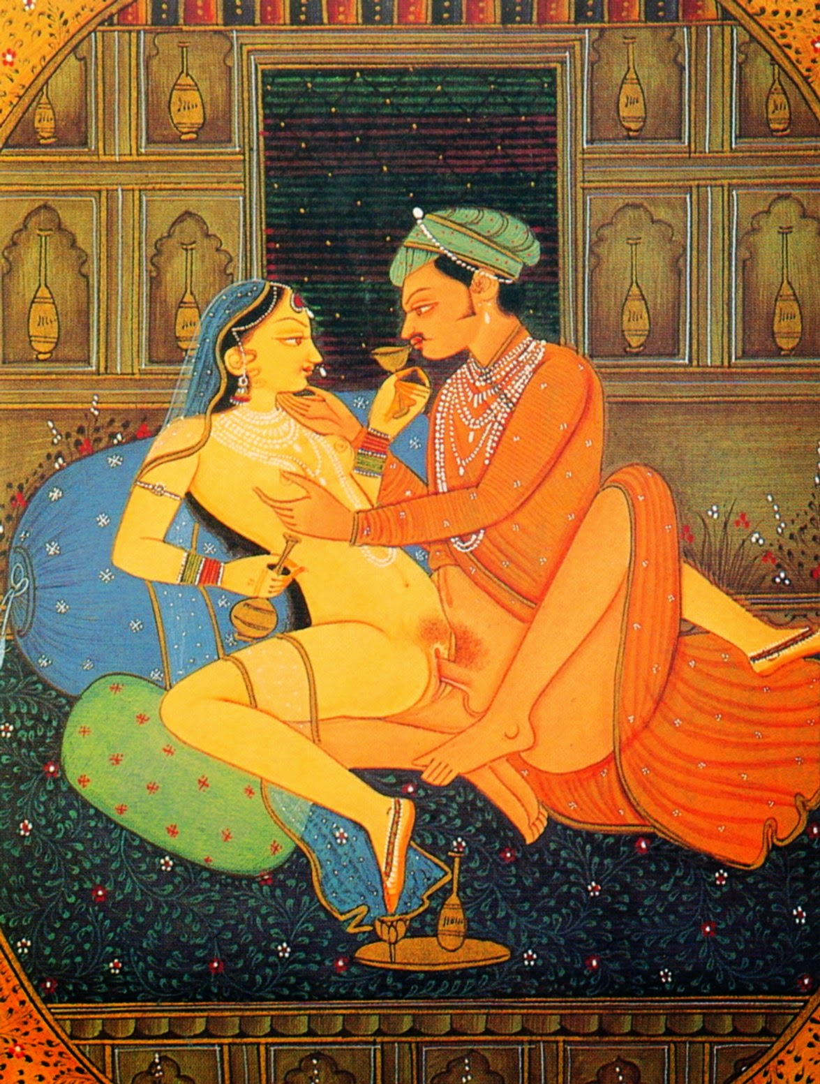 порно рисунки индийская камасутра старинная самое красивое