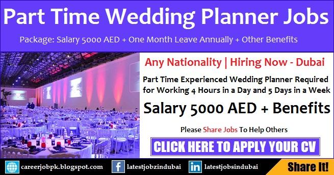 Part Time Event Management Jobs in Dubai