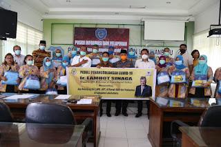 RSUD Rantauprapat Dan Dinkes Labuhanbatu Terima APD Dari Anggota DPR-RI Komisi VI