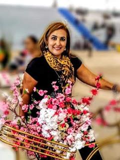 Foto de Josirene Araújo, mulher de ex-vereador de Andradina