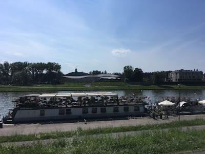 Kraków rzeka Wisła, rejsy statkami